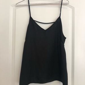 Black Top- with cutout back